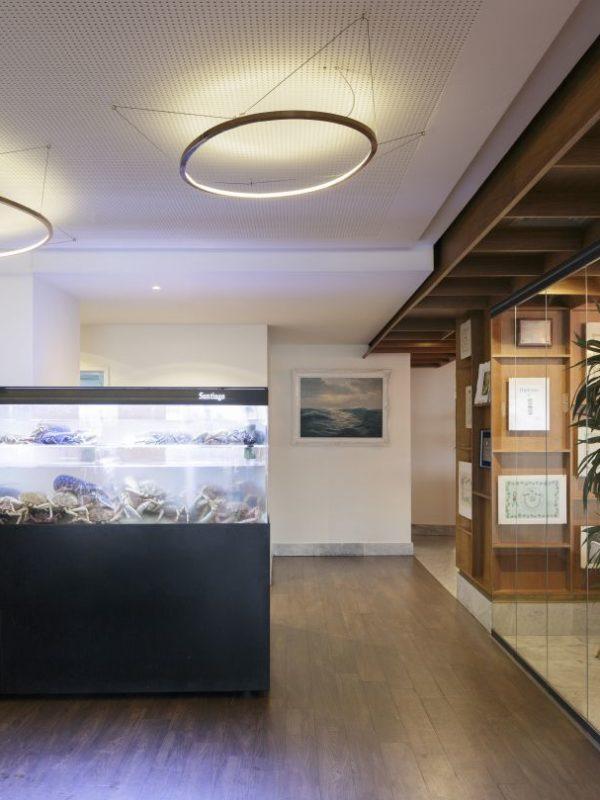 acuario vivero de marisco