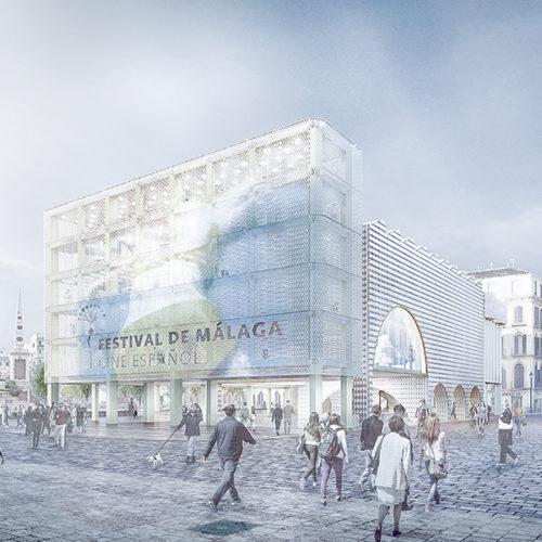 New Astoria building in Malaga