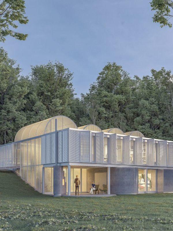 casa unifamiliar bioclimática sostenible